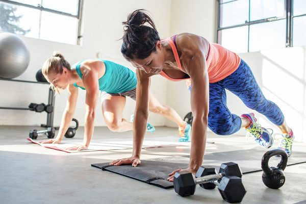 9 Exercises to get in shape fast